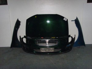 Rover 25 2001 μετώπη εμπρός κομπλέ πράσινο