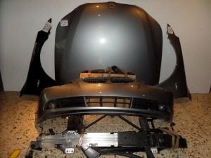 BMW E60 03-10 Καπό εμπρός κομπλέ ασημί