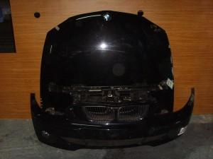 BMW E81/87 04-11 Καπό εμπρός κομπλέ μαύρο