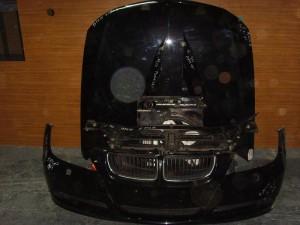 BMW E90 05-08 Καπό εμπρός κομπλέ μαύρο