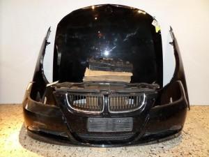 BMW series 3 E90 05-08 Καπό εμπρός κομπλέ μαύρο