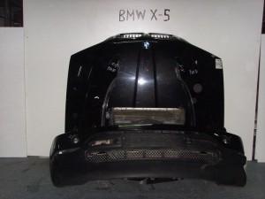 BMW X5 00-06 Καπό εμπρός κομπλέ μαύρο