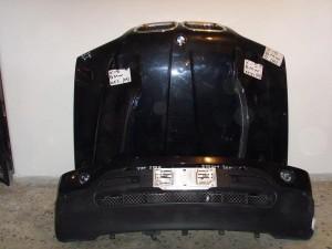 BMW X5 2005 Καπό εμπρός κομπλέ μαύρο