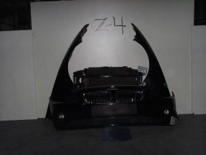 BMW Z4 E85 03-09 Καπό εμπρός κομπλέ μαύρο