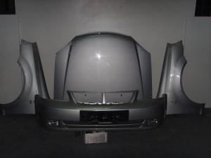 Chevrolet nubira 2003 Καπό εμπρός κομπλέ ασημί