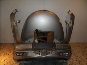 Chrysler pt 01-08 Καπό εμπρός κομπλέ ασημί
