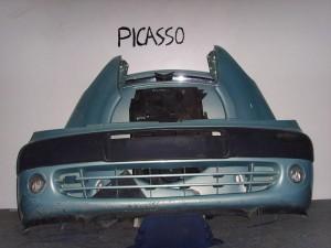 Citroen xsara picasso 99-07 Καπό εμπρός κομπλέ γαλάζιο