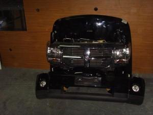 Dodge nitro Καπό εμπρός κομπλέ μαύρο