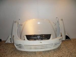 Fiat multipla 2010 Καπό εμπρός κομπλέ λευκό