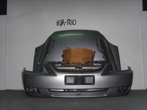 Kia Rio 02-05 Καπό εμπρός κομπλέ ασημί