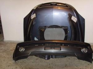 Kia sorento 2005 Καπό εμπρός κομπλέ γκρί σκούρο