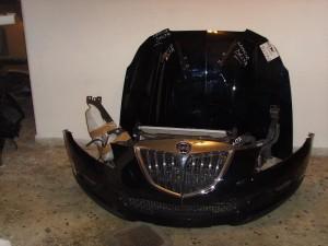 Lancia delta 07-12 Καπό εμπρός κομπλέ μαύρο