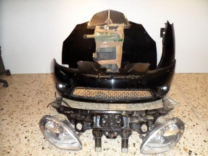 Lancia Y 10 Καπό εμπρός κομπλέ μαύρο