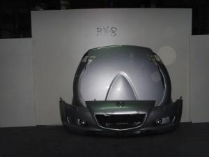 Mazda RX8 04 Καπό εμπρός κομπλέ ασημί