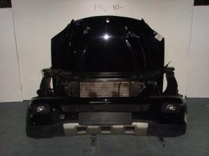 Mercedes ML 164 Καπό εμπρός κομπλέ μαύρο