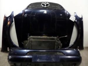 Mercedes ML w163 2001 Καπό εμπρός κομπλέ κομπλέ μπλέ