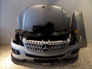Mercedes ml w164 06-11 Καπό εμπρός κομπλέ ασημί