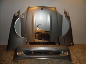 Mercedes slk lift Α170 2001 Καπό εμπρός κομπλέ ασημί