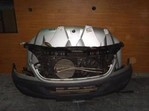 Mercedes sprinter 208-408 07-12 Καπό εμπρός κομπλέ ασημί