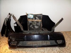 Mercedes vaneo W414 2002-2005 μετώπη-μούρη εμπρός κομπλέ μαύρο