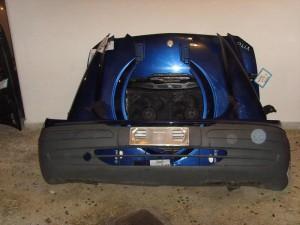 Mercedes vito 639 2004-2010 μετώπη εμπρός κομπλέ μπλέ