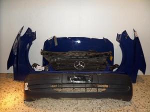 Mercedes vito w639 2004-2010 μετώπη-μούρη εμπρός κομπλέ μπλέ