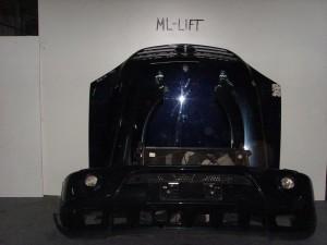 Mercedes w163 ML 98-05 Καπό εμπρός κομπλέ μπλέ