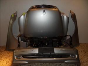 Mercedes w203 00-03 Καπό εμπρός κομπλέ ασημί