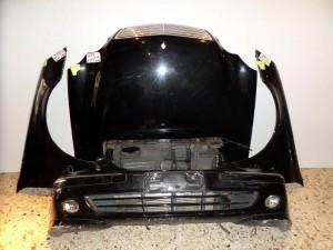 Mercedes w203 4πορτο lift 04-07 Καπό εμπρός κομπλέ μαύρο