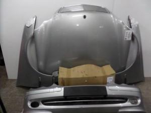 Mercedes w203 4θυρο 00-03 Καπό εμπρός κομπλέ ασημί