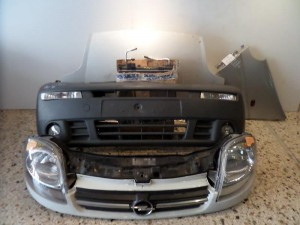 Opel vivaro Ι Καπό εμπρός κομπλέ άσπρο