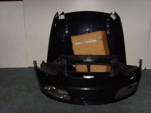 Porsche cayenne 03-10 Καπό εμπρός κομπλέ μαύρο