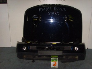 Range Rover Sport 2003-2012 μετώπη-μούρη εμπρός κομπλέ μαύρο