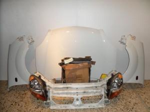 Renault kangoo 05 Καπό εμπρός κομπλέ άσπρο