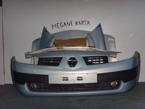 Renault megane 02-05 Καπό εμπρός κομπλέ γαλάζιο