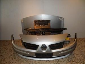 Renault Megane Cabrio 2003-2006 μετώπη εμπρός κομπλέ ασημί