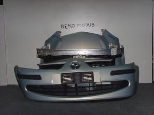 Renault modus 05-08 Καπό εμπρός κομπλέ γαλάζιο