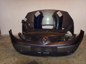 Renault scenic 02-07 Καπό εμπρός κομπλέ μόβ