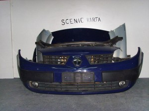 Renault scenic 02-07 μετόπη εμπρός κομπλέ μπλέ