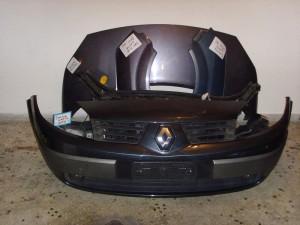 Renault scenic 02-08 Καπό εμπρός κομπλέ μπλέ-μώβ