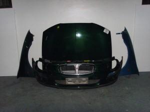 Rover 25 2001 Καπό εμπρός κομπλέ πράσινο