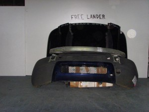 Rover Freelander 98-07 Καπό εμπρός κομπλέ μαύρο