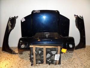Subaru forester 04-07 Καπό εμπρός κομπλέ μπλέ
