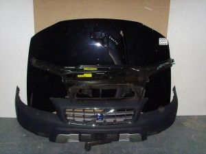 Volvo XC70 2000-2007 μετώπη-μούρη εμπρός κομπλέ μαύρο