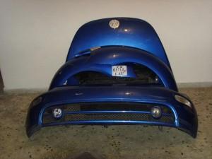 VW beetle 99-06 Καπό εμπρός κομπλέ μπλέ