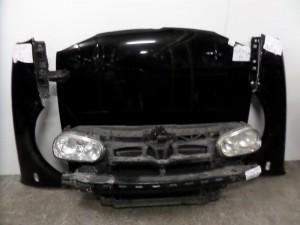 VW Golf 4 98-04 Καπό εμπρός κομπλέ μαύρο