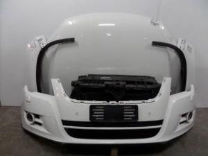 VW Tiguan 2010 Καπό εμπρός κομπλέ λευκό