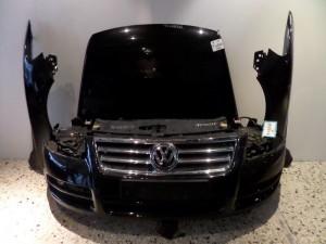 VW touareg 02-08 μετώπη εμπρός κομπλέ μαύρο