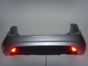 Kia Venga 2010-2014 πίσω προφυλακτήρας ασημί