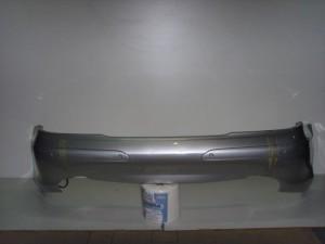 Mercedes sl r230 2002-2008 πίσω προφυλακτήρας ασημί